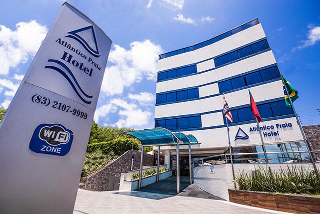 Atlântico Praia Hotel (PB) tem diária média 8,2% maior em 2017