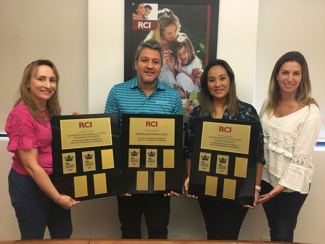 RCI reconhece empreendimentos do Wyndham Club Brasil com Gold Crown