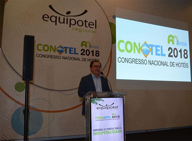 Presidente da ABIH Nacional mantém ritmo de viagens divulgando o CONOTEL 2018