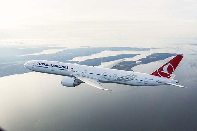 Turkish Airlines atinge taxa de ocupação de 79,8%