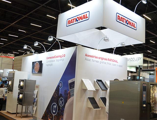 Rational expõe equipamentos de alta produtividade e tecnologia no SIRHA