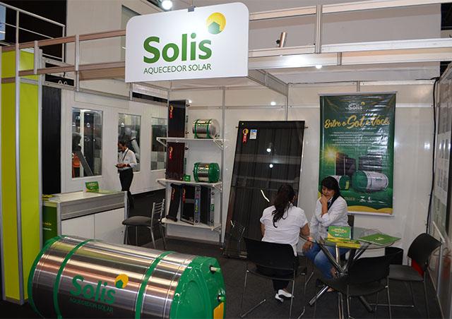 Solis traz aquecedores solares para SIRHA São Paulo
