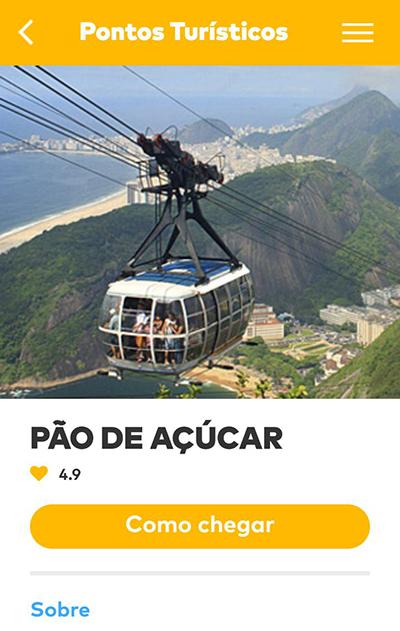 Pier Mauá, no Rio de Janeiro, passa a oferecer informações turísticas em app