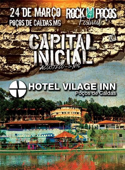Vilage Inn Poços de Caldas (MG) investe na oferta de shows