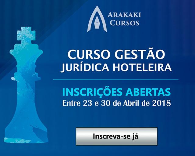 Gestão Jurídica Hoteleira é tema de curso online inédito no Brasil