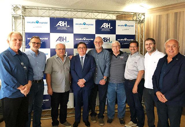 Presidente da ABIH Nacional visitou hoje Florianópolis (SC) divulgando o CONOTEL