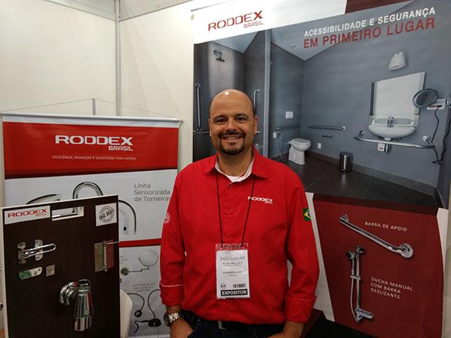 Roddex apresenta muitas soluções para a hotelaria na feira Equipotel Regional