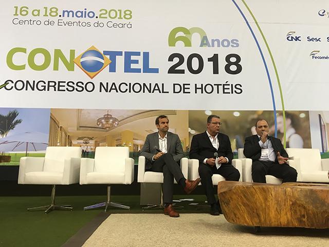 Conotel 2018: Mesa redonda debate influência da hotelaria na tomada de decisões