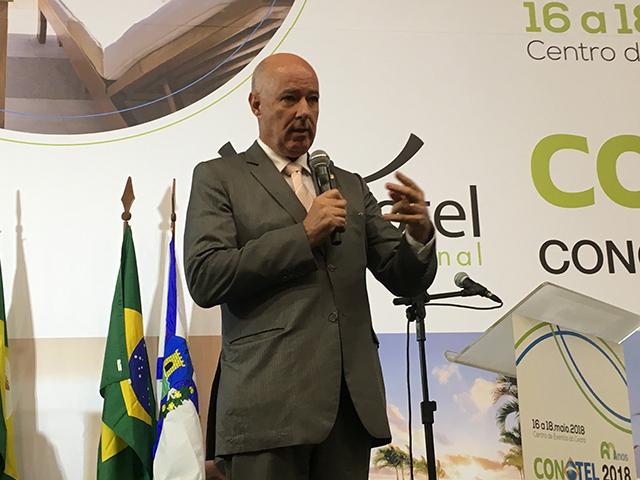 Herculano Passos fala sobre medidas para desenvolvimento do Turismo no Conotel 2018