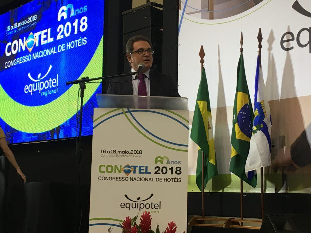Conotel 2018: Ministro do Turismo pede competitividade para alavancar setor