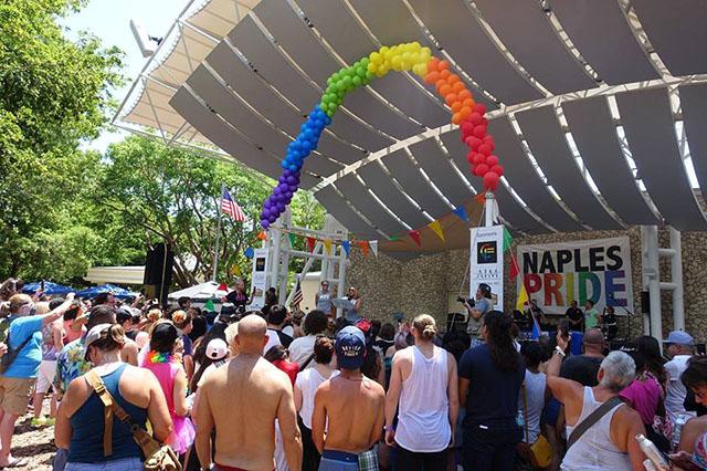 Naples, na Flórida, anuncia evento para celebrar o Orgulho LGBT