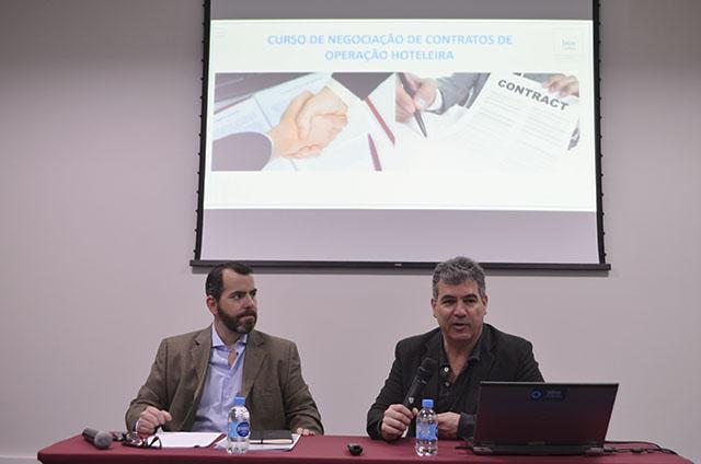 InnVestidor promoveu curso de negociação de contratos de operação hoteleira