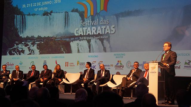 13º Festival das Cataratas é aberto em solenidade e espera 8 mil participantes