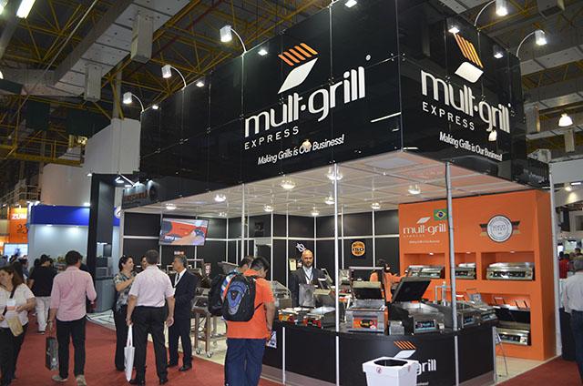 FISPAL 2018: Mult-Grill apresenta solução com lâmina vitrocerâmica e charbroiler