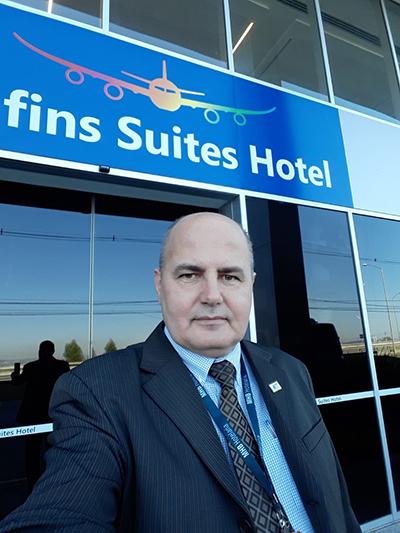Novo gerente no Confins Suítes Hotel (MG)