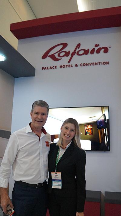 Rafain Palace Hotel investirá R$ 3 milhões em modernização e troca de rouparia