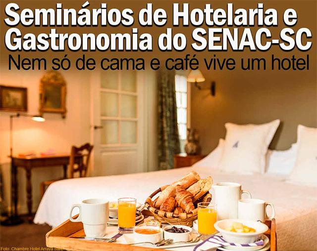 Encatho & Exprotel terá programação de palestras do Senac