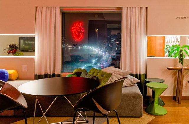 Haja coração é nome de suíte temática do Sofitel Ipanema para a Copa do Mundo