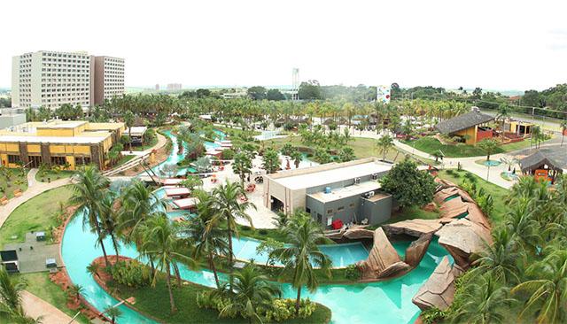 Hot Beach Resort (SP) sedia Encontro de Clientes da Casa Flora