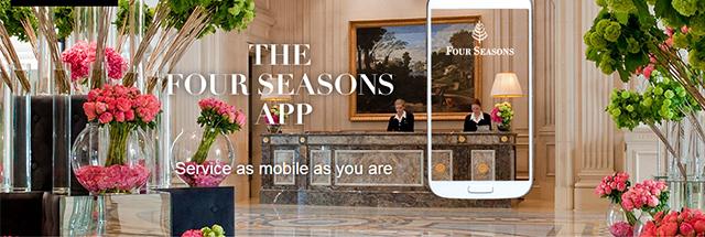 Four Seasons lança chat e conecta equipe do hotel ao hóspede