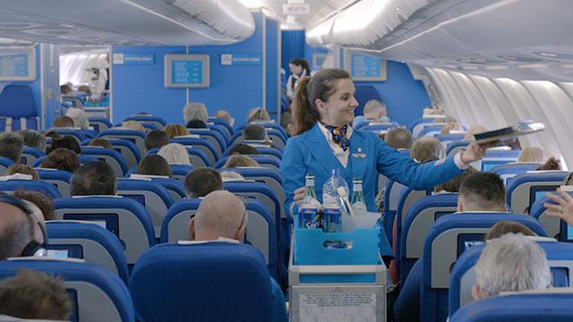 KLM lança novo serviço de bordo na classe Economy