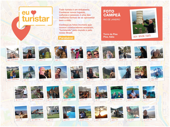 CNC comemora Dia do Turista com concurso entre colaboradores