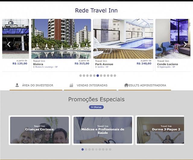 Rede Travel Inn Hotels apresenta seu novo site