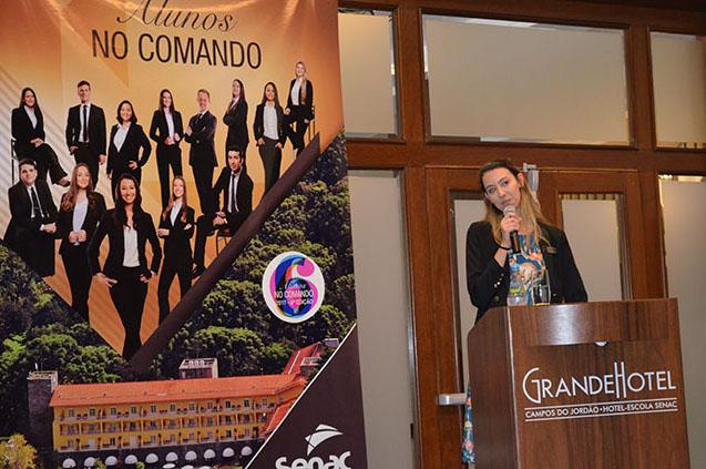 Gerente no 'Desafio Senac – Alunos no Comando 2017' inicia carreira internacional