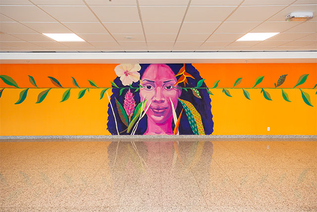 A arte contemporânea urbana invade o RIOgaleão (RJ)