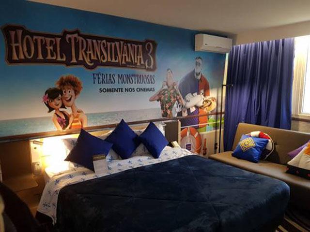 'Hotel Transilvânia 3: Férias Monstruosas' invade suítes da marca Novotel