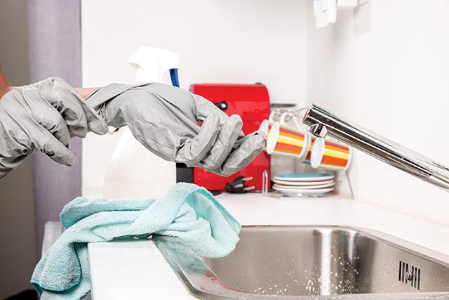 Como está a higiene do seu hotel?