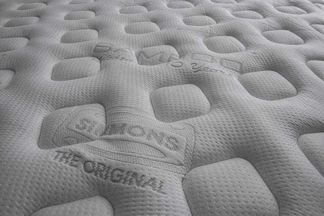 A Simmons continua investindo em tecidos funcionais nos seus colchões