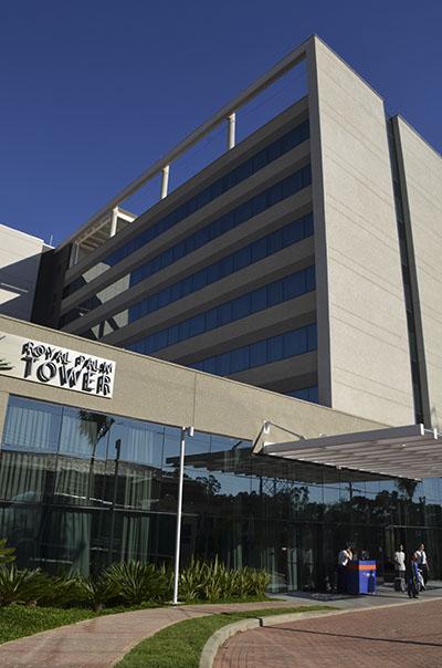 Hotel Royal Palm Tower Anhanguera é apresentado ao mercado