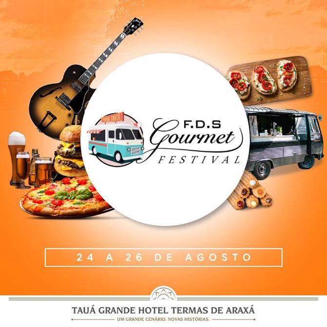 Tauá Grande Hotel Araxá (MG) recebe FDS Gourmet Festival