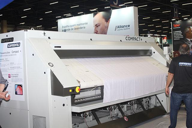 Girbau apresenta suas lavanderias de alta tecnologia
