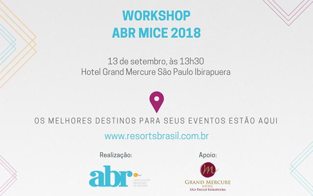 ABR promove workshop MICE e reúne resorts e gestores de eventos