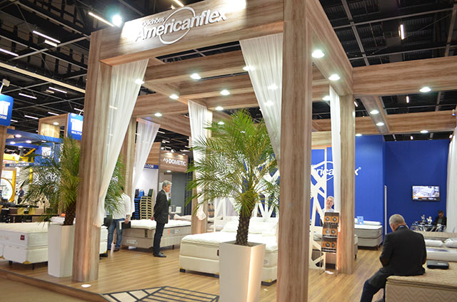 Hotelaria Americanflex leva inovação e sofisticação em produtos para  a Equipotel