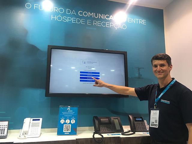 Leucotron: comunicação rápida e eficiente entre hotéis e clientes