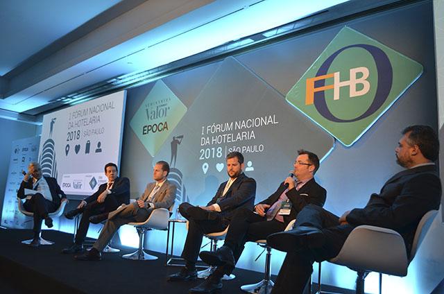 Evento do FOHB debate mercado imobiliário e fontes de financiamento para os hotéis