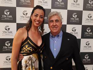 Schultz marca presença na inauguração do Vila Galé Touros