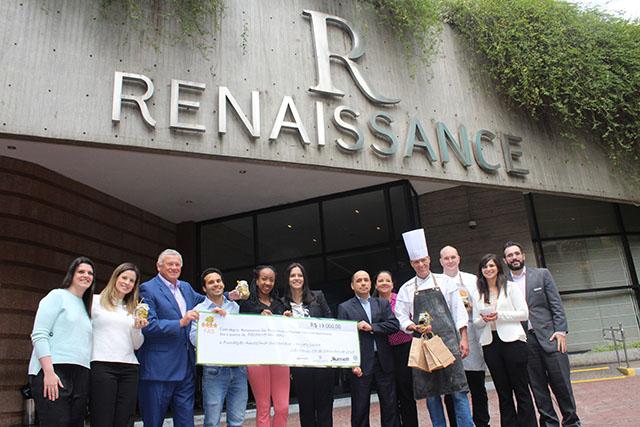 Hotéis da Marriott fazem doação para a Fundação Amazonas Sustentável