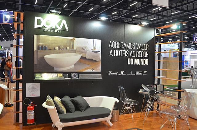 Doka apresentou Banheira Air Massage Geneve que alia inovação e experiências