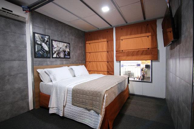 Samba Hotéis leva modelo de contêiner para ABAV Expo 2018