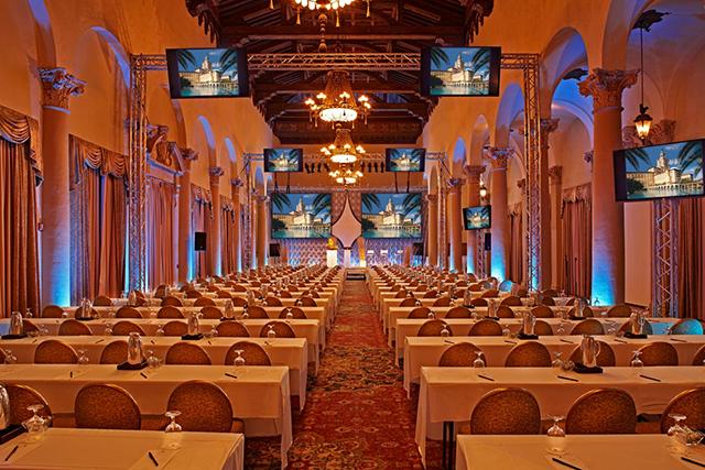 The Biltmore Hotel oferece espaços modernos para reuniões e eventos