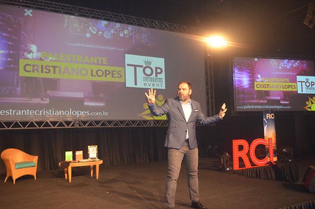 Palestra de Cristiano Lopes encerrou a 6ª edição do Top Seller Event