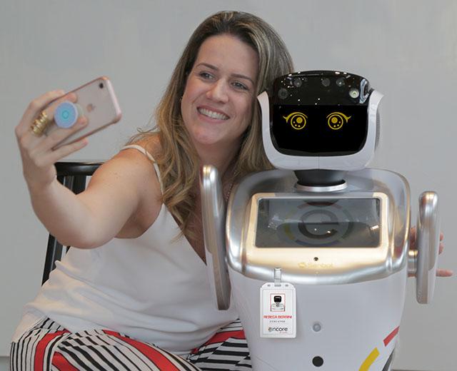 Ramada Encore Berrini contará com robô de serviço focado no atendimento