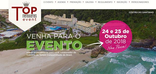 Top Seller Event 2018 acontecerá no Costão do Santinho Resort Golf & Spa