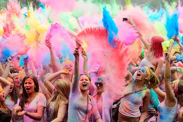 Cana Brava promove Festival das Cores durante as férias