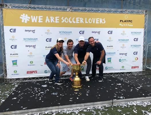 Wyndham Hotels apoia campeonato de futebol que faz trabalho social com crianças