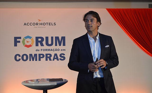 Patrick Mendes palestrou no Fórum de Formação em Compras da AccorHotels